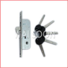 WS-890(CL) CL SLIDING DOOR LOCK